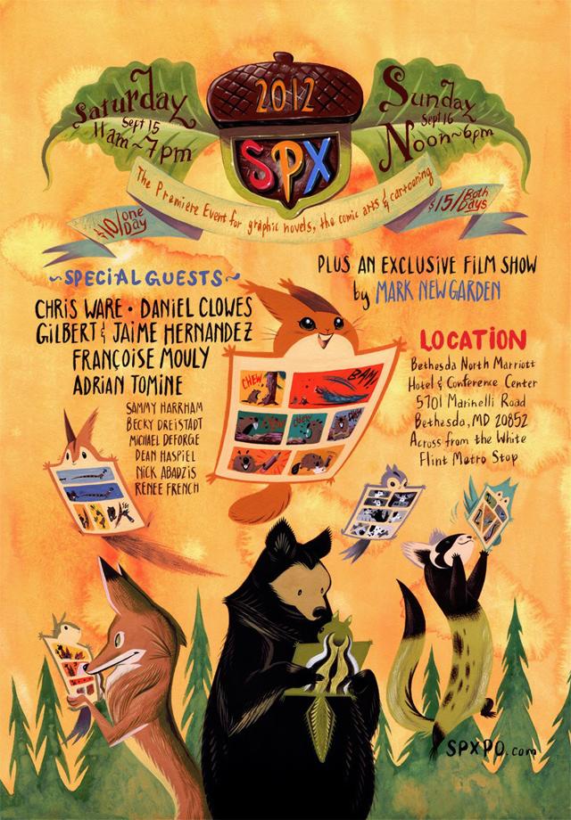 SPX 2012 Poster by Becky Dreistadt