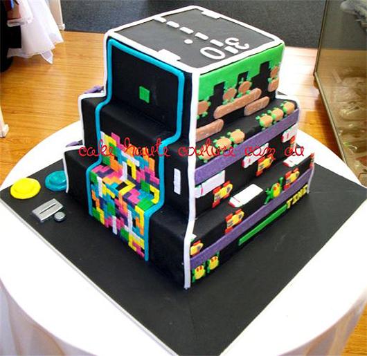Retro Gaming Cake