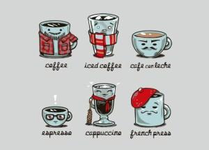 The Coffees by Tasha Chapman