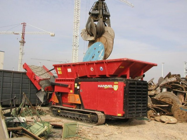 Hammel VB 950 shredder
