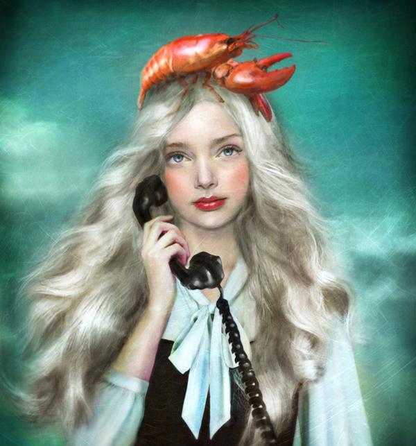 Surreal Old-Fashioned Portraits by Marta Bielsa