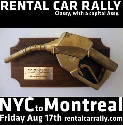 Rental Car Rally