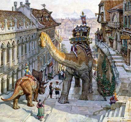 Dinotopia by James Gurney