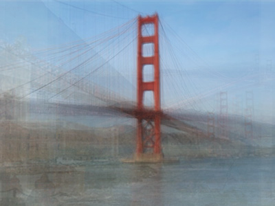 Photo Montages Created From Hundreds of Tourist Snapshots