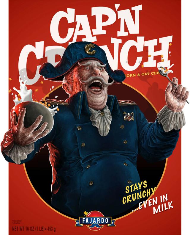 Breakfast Time! - Cereal series (Cap'n) by Guillermo Fajardo