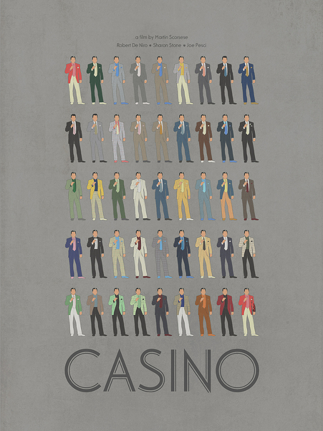 Casino Tribute Poster