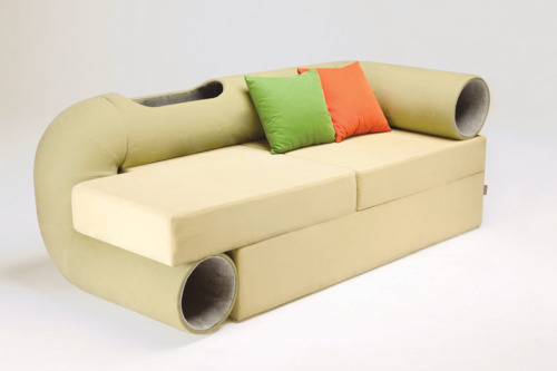 Cat Tunnel Sofa