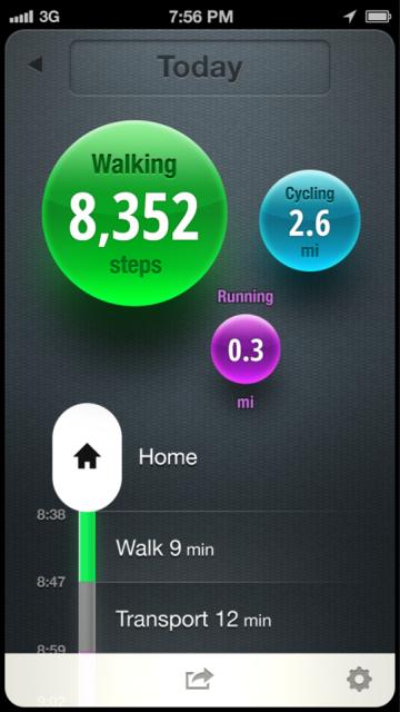 Moves app