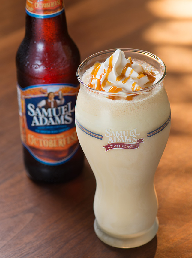 Samuel Adams Octoberfest Milkshake at Red Robin