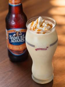 Samuel Adams Octoberfest Milkshake at Red Robin