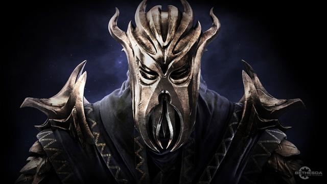 Dragonborn full-res wallpaper from Bethesda