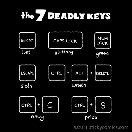 7-deadly-keys
