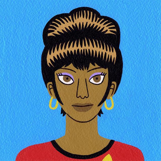 Uhura by Jack Teagle