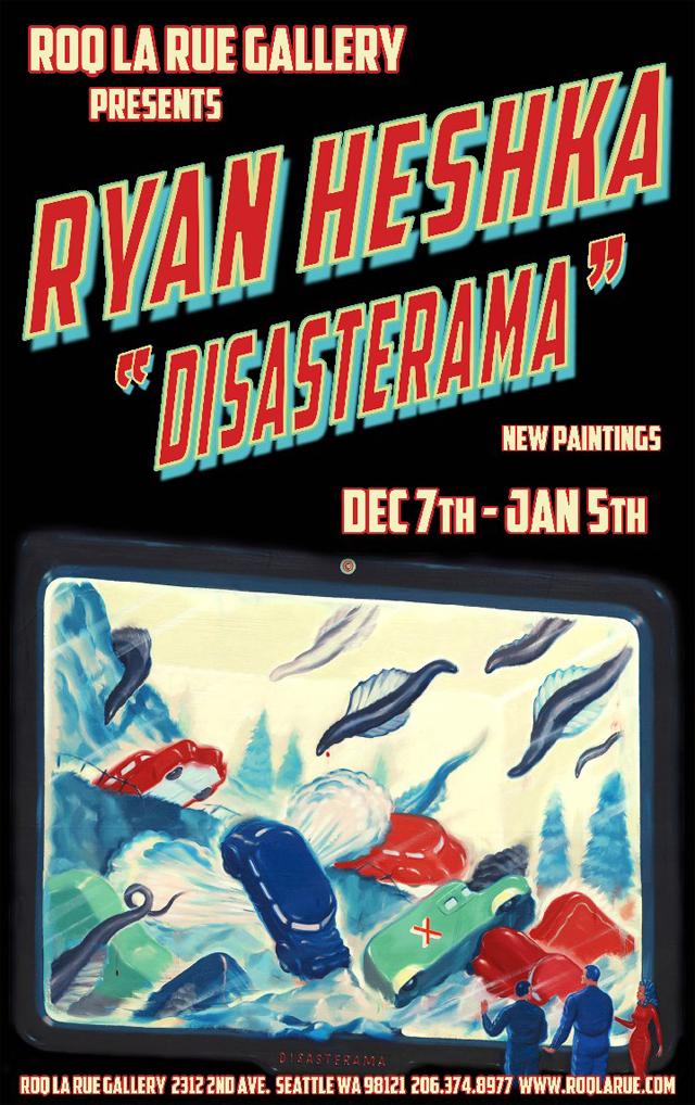 Femke Hiemstra & Ryan Heshka Solo Art Shows at Roq La Rue Gallery