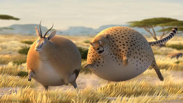 Rollin' Safari, Animated Shorts of Bloated & Round Wild ...