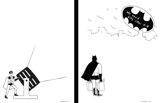 Batman Loves Robin by Mari Naomi
