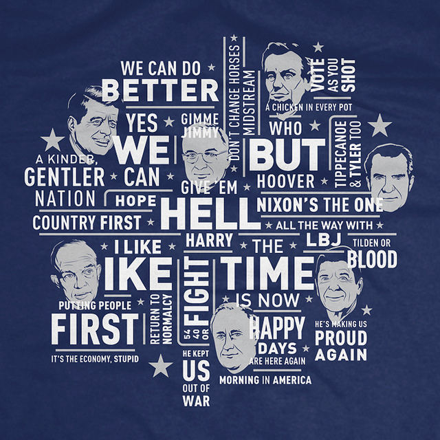 165 Years of Presidential Campaign Slogans