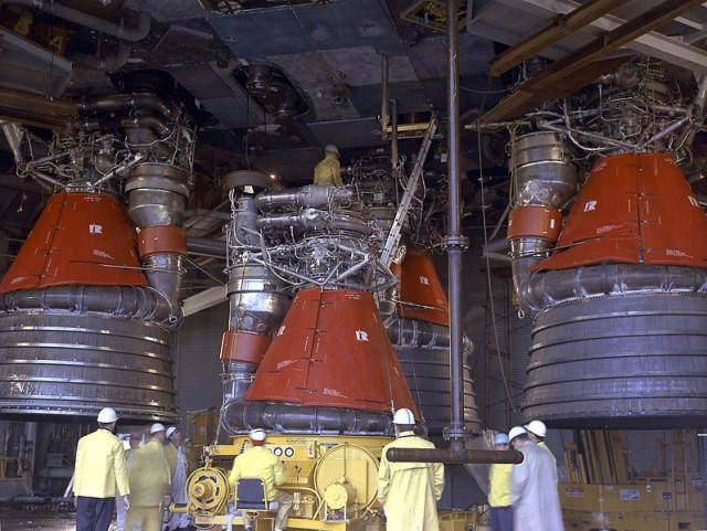 F-1 Rocket Engines
