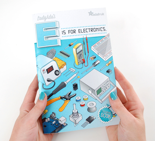 Ladyada's E is for Electronics by Adafruit