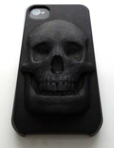 3D Printed Skull iPhone Case by Hugo Arcier