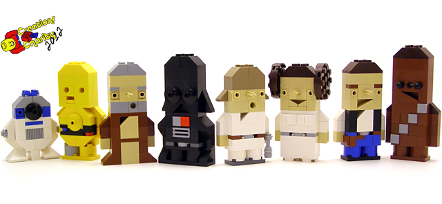 LEGO Star Wars Characters Built & Donated to Creations for Charity