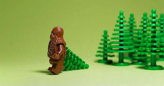 Wookiee needs a tree by j5k