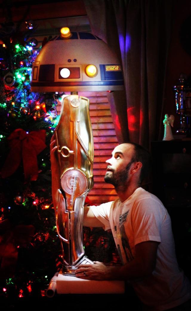 Star Wars Christmas Story Crossover Leg Lamp By Gordon Tarpley. U201c