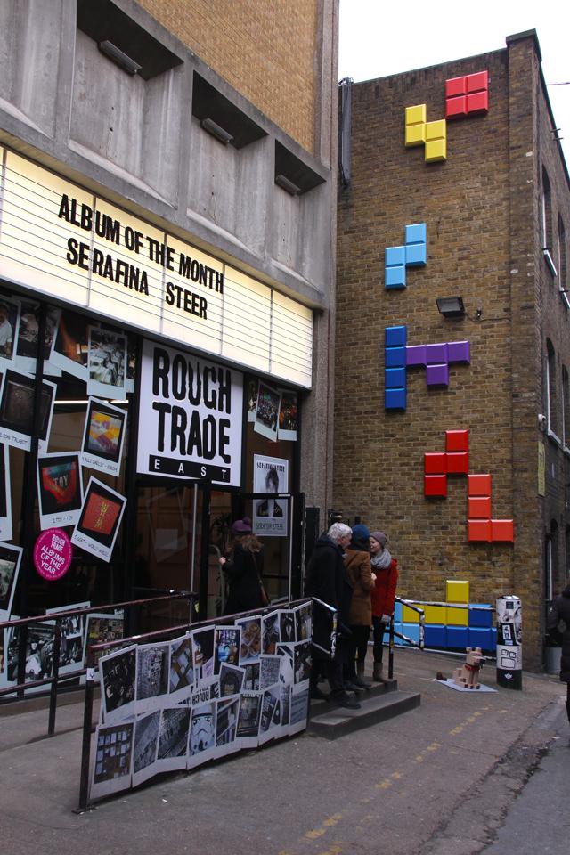A Tetris Wall