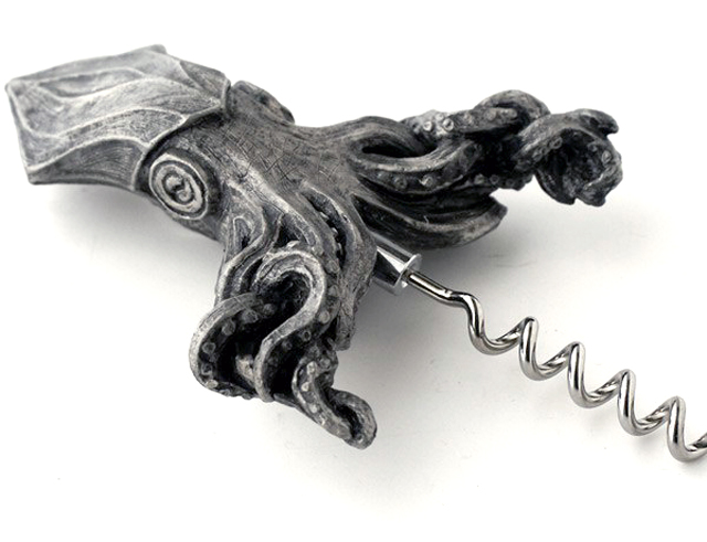 Squid Corkscrew by Dellamorte