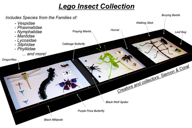 Lego Insect Collection
