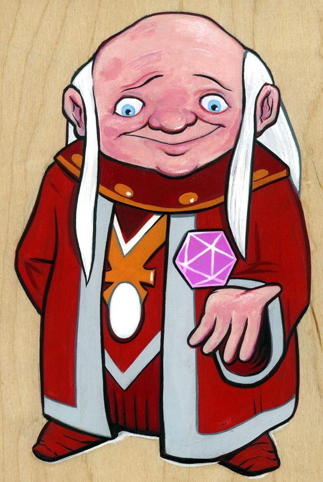 Dungeon Master by Josh Ellingson