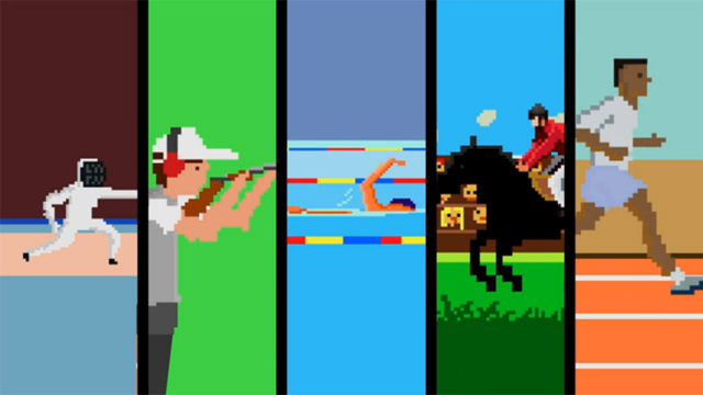 The 8-Bit Games! by Flikli