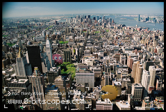 Pac Manhattan by 8-bitscapes