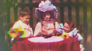 World's first color film footage