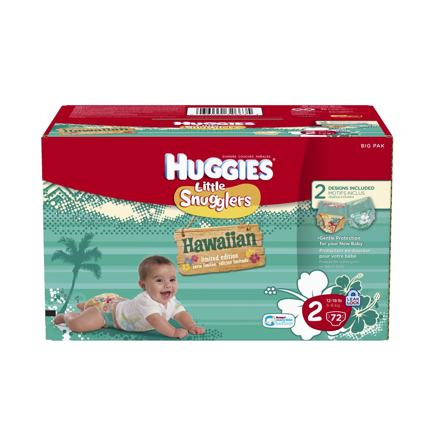 Hawaiian diapers