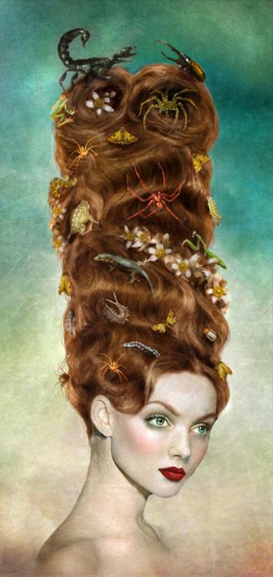 Surreal portraits by Marta Bielsa