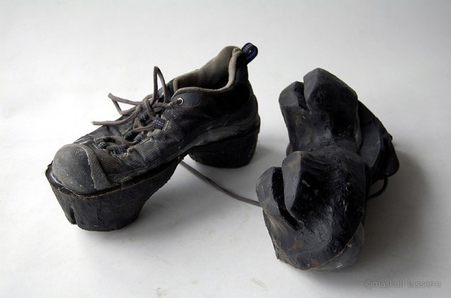 Animal Footprint Shoes by Maskull Lasserre