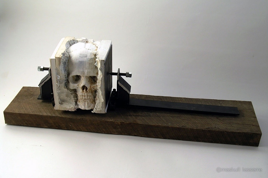 Carved Anatomical Sculptures by Maskull Lasserre