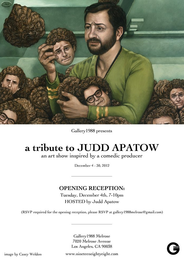 A Tribute to Judd Apatow, An Art Show Inspired by a Comedic Producer