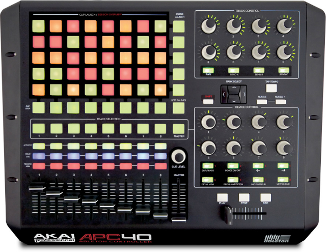 APC40 by Akai Professional
