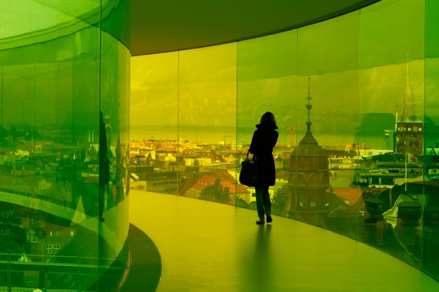 Your Rainbow Panorama by Olafur Eliasson
