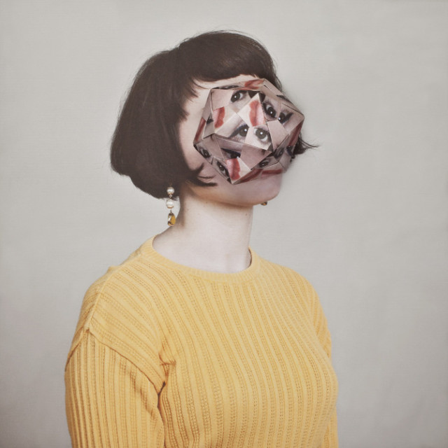 Cosmic Surgery Photos Of People With Origami Faces