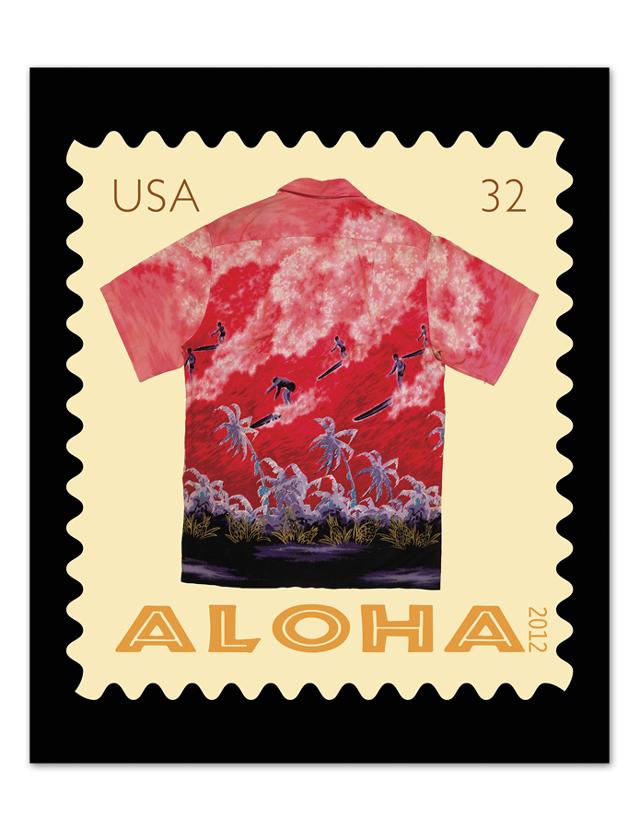 Aloha giclee art print
