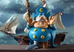 Cap'n Cornstarch by Ron English