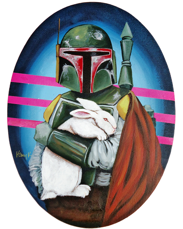 White Rabbit (Boba Fett) by Kelly Kerrigan