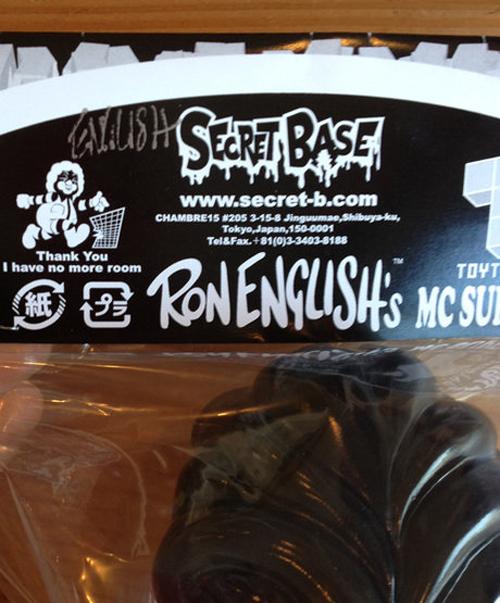MC Supersized Secret Base Black Colorway by Ron English