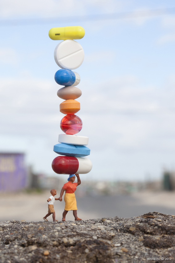 balancing act by the little people project benefits south african