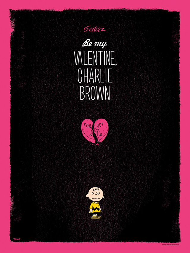 Be My Valentine, Charlie Brown ALT