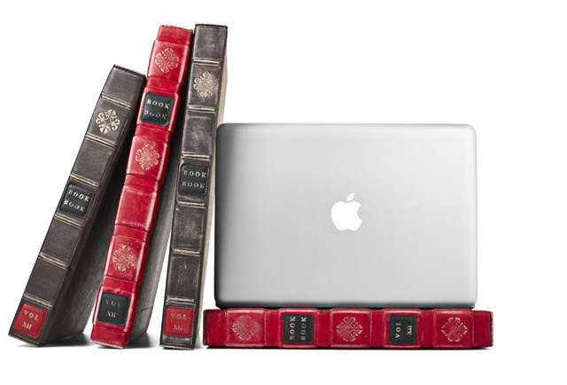 Book Cover Case : Bookbook a case that disguises your laptop as leather book