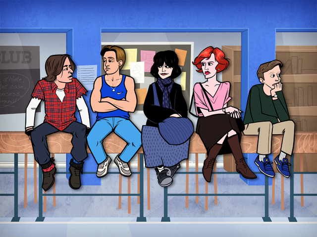 The Breakfast Club by Justin White